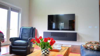 TV Installations In A Beautiful New Home