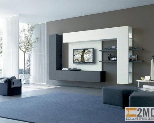 Modern Living Room Design Ideas Renovations  Photos Houzz - Modern living room design