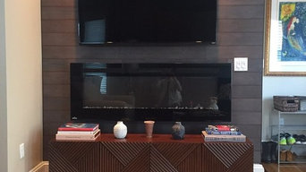 TV Wall Mount - Fireplace and Stikwood Installation