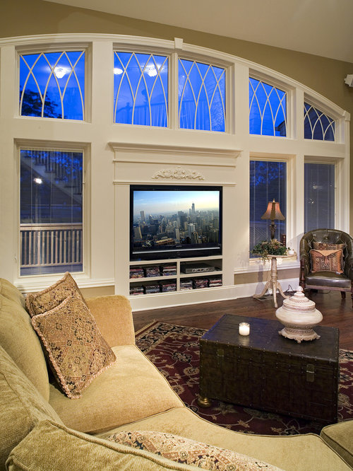 Tv In Front Of Window Home Design Ideas Pictures Remodel