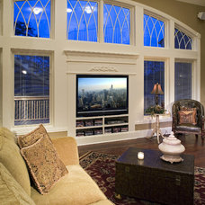 Traditional Living Room by The Cabinetry Boutique