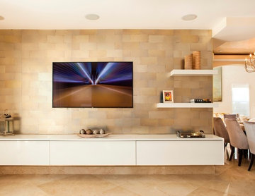 TV Wall Unit , Entertainment Center, Media Storage