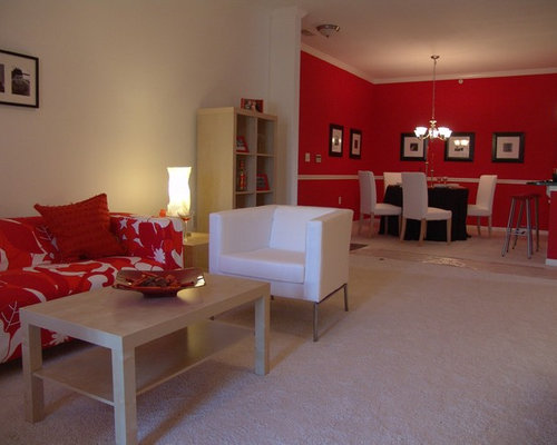 Modern Indianapolis Living Room Design Ideas Remodels Photos Houzz