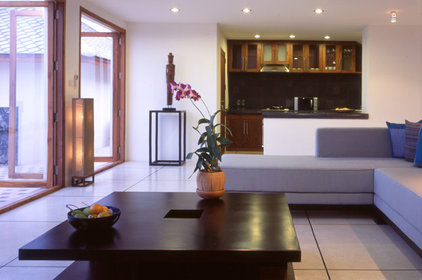 Contemporary Living Room by CL3
