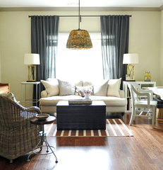 eclectic living room by Two Ellie