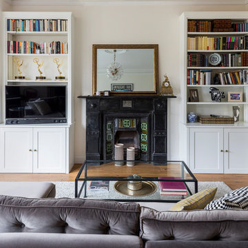 Two Level Garden Apartment in West Hampstead