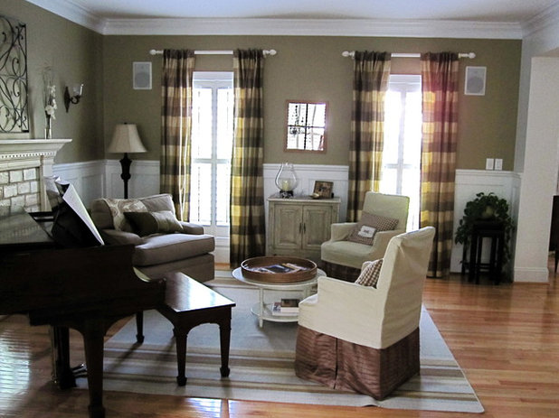 Skirted furniture style for 2 piani cottage storia
