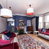 Houzz Tour: Colour and Pattern Liven Up a London Semi