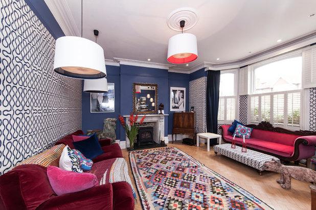 Klassisch modern Wohnbereich by aegis interior design ltd