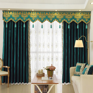 Twynam Plain Custom Made Velvet Valance Curtains