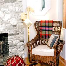 Beach Style Living Room by Landing Design & Development
