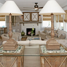 Beach Style Living Room by OUTinDesign