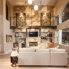 Contemporary Living Room by Design by Misha