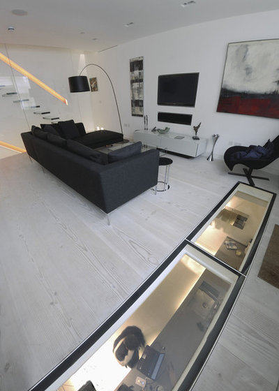 Contemporary Living Room by GS Underfloor Heating Systems