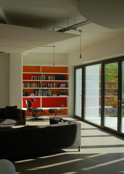 Contemporary Living Room by Seymour-Smith Architects