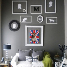 Contemporary Living Room Union jack