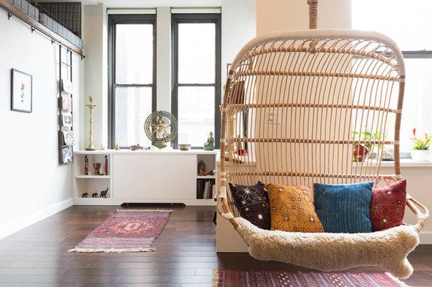Contemporary Living Room by Peti Lau Inc.