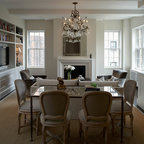Union square transitional renovation transitional - The living room at the w union square ...