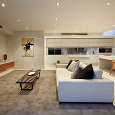 Contemporary Living Room by Platinum Building Group