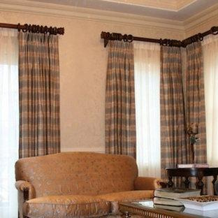 Plaid Living Room Curtains Ideas & Photos | Houzz