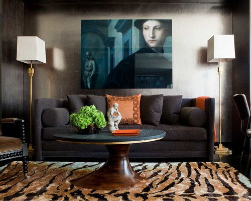outstanding modern eclectic living room | Eclectic Modern Living Room | Houzz