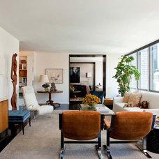 Contemporary Living Room by David Scott Interiors