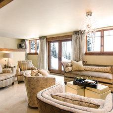 Modern Living Room by Rumor Design + reDesign