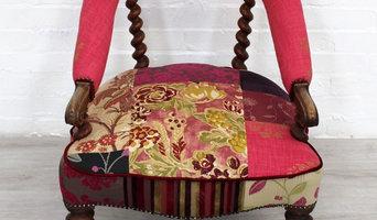 Up-cycled Victorian Barley Twist Tub Chair