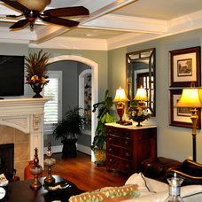 Traditional Living Room by Flawless Painting
