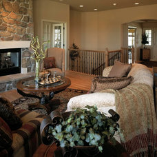 Traditional Living Room by Curt Hofer & Associates