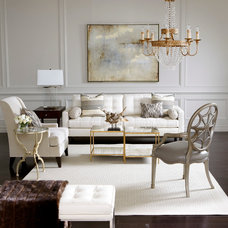 Eclectic Living Room by Ethan Allen
