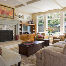 Eclectic Living Room by LiLu Interiors