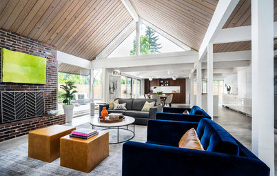 Houzz Tour: Midcentury Gem in Oregon Gets a Contemporary Update