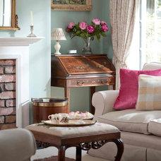Traditional Living Room by Emma Johnston Interior Design