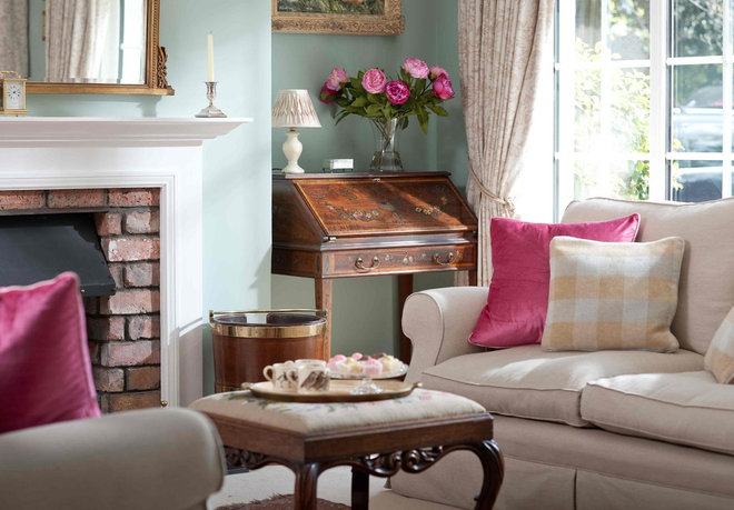 Traditional Living Room by Emma Johnston Interior Design