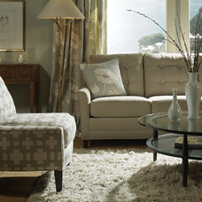 Transitional Living Room by Almira Fine Furniture