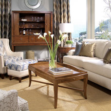 Traditional Living Room by Almira Fine Furniture