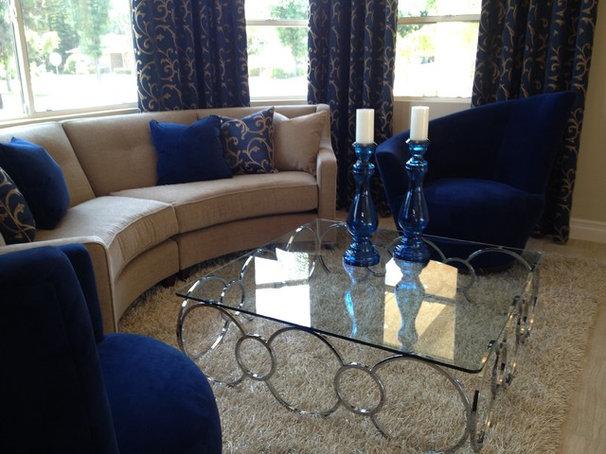 Living Room by CJ Interior Design