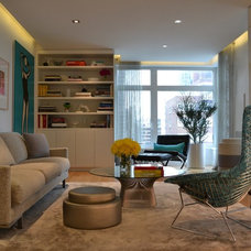 Contemporary Living Room by The Somogyi Group