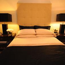 Contemporary Bedroom by Rahbia Allen Interiors
