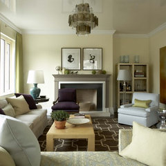 modern living room by Willey Design LLC