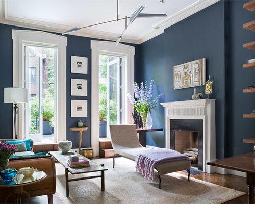 Transitional living room design ideas remodels photos - Transitional style living room ...