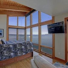 Contemporary Living Room by FabCab