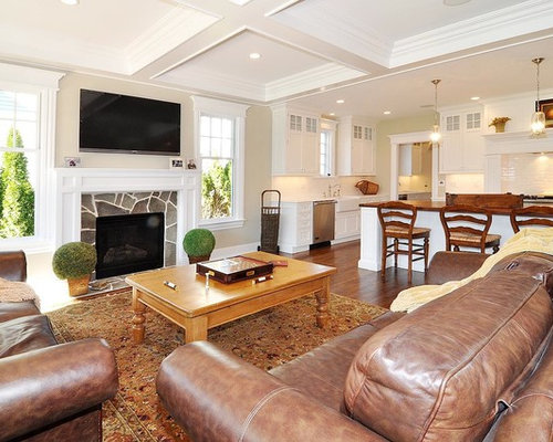 Marvelous Houzz Traditional Den Design Ideas Remodel Pictures Largest Home Design Picture Inspirations Pitcheantrous