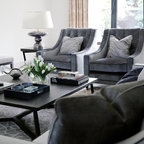 Upper Park Contemporary Living Room London By