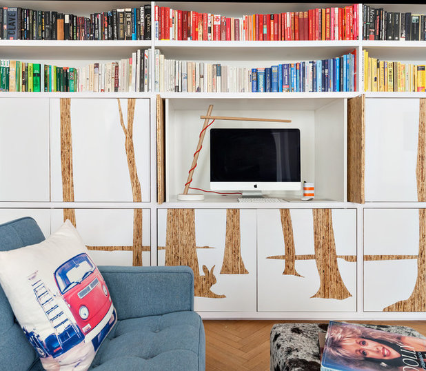 Contemporary Living Room by weetu