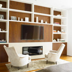 contemporary living room by Jarlath Mellett