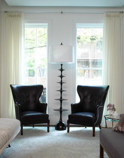 Transitional Living Room by Jarlath Mellett