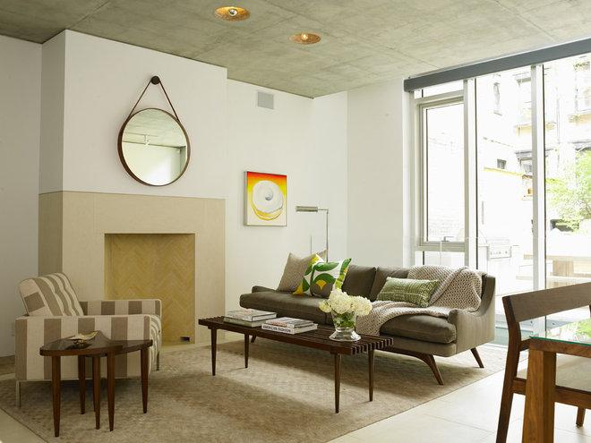 Contemporary Living Room by Jarlath Mellett