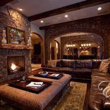 Mediterranean Living Room by Eklektik Interiors